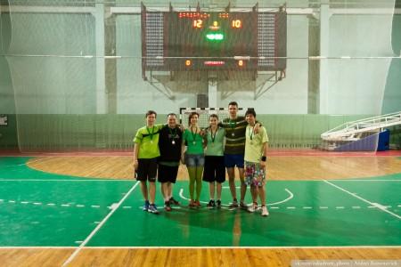 Команда ККК натурнире Капялюш 2014 (Микс дивизион, 2/6)