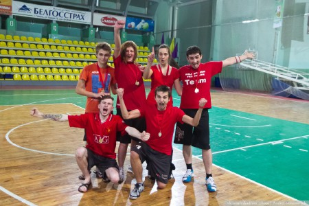 Команда Барбарыскі натурнире Капялюш 2014 (Микс дивизион, 1/6)