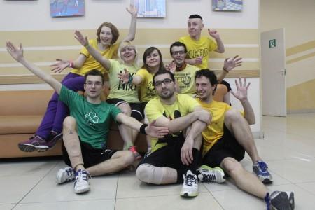 Команда А3 Поджигай натурнире Весеннее обострение 2014 (Микс дивизион, 5/8)