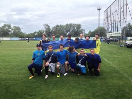 Команда Team Ukraine натурнире Брест без границ 2014 (ОД, 5/9)