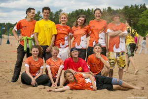 Команда Бивни натурнире Вызов Питера 2014 ПЧР (Микс дивизион, 3/5)
