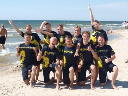 Команда Vorai натурнире Sun Beam 2014 (Микс дивизион, 2/6)