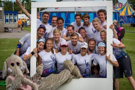 Команда Würzburg Disc-o-Fever натурнире Windmill Windup 2014 (Микс дивизион, 3/30)