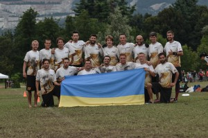 Команда Gigolo Kiev Ultimate Club на турнире WUCC 2014 (ОД, 42/48)