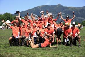 Команда Bivni натурнире WUCC 2014 (Микс дивизион, 45/48)