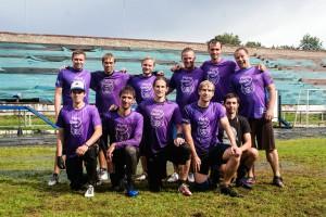 Команда Флаинг Степс натурнире КНО 2014 (ОД, 6/8)