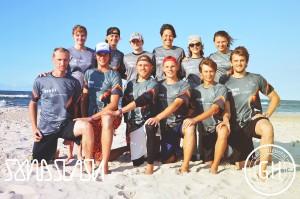 Команда Бивни натурнире SandSlash 2014 (Микс дивизион, 2/24)