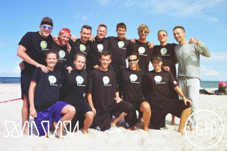 Команда Spirit on Lemon натурнире SandSlash 2014 (Микс дивизион, 5/24)