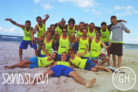 Команда 4hands натурнире SandSlash 2014 (Микс дивизион, 8/24)