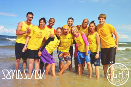 Команда Laywatch натурнире SandSlash 2014 (Микс дивизион, 15/24)