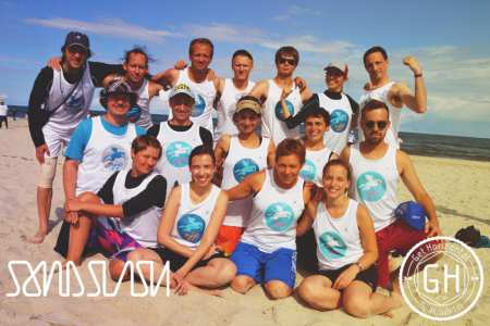 Команда RJP натурнире SandSlash 2014 (Микс дивизион, 17/24)