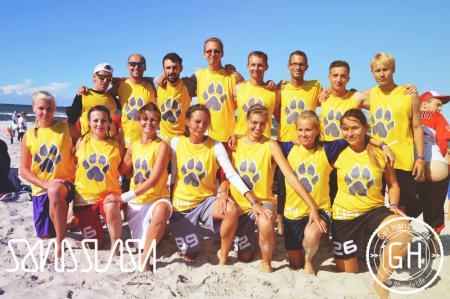 Команда Uwaga Pies натурнире SandSlash 2014 (Микс дивизион, 18/24)