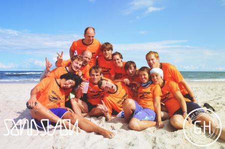 Команда Trial & Error натурнире SandSlash 2014 (Микс дивизион, 21/24)