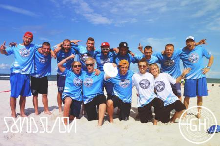 Команда Albatros натурнире SandSlash 2014 (Микс дивизион, 22/24)
