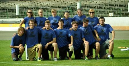 Команда Wild West натурнире EUCR East X 2014 (Микс дивизион, 9/12)