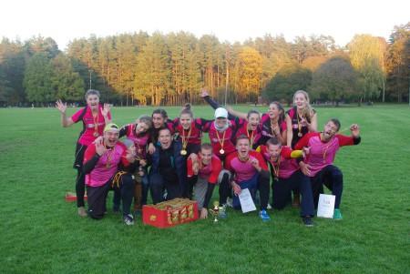 Команда Bubblicious натурнире LUC 2014 (Микс дивизион, 1/4)