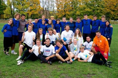 Команда Kyiv Family натурнире МиксЧУ 2014 (Микс дивизион, 1/7)