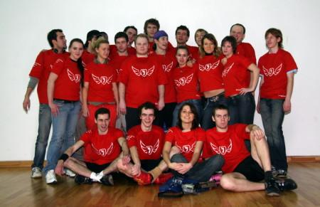 Команда Флаинг Степс натурнире Лорд Новгород 2008 (ОД, 7/23)