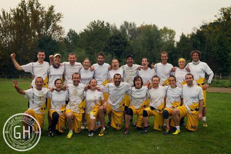 Команда Sun Frisbee Club De Créteil натурнире EUCF 2014 (Микс дивизион, 1/12)