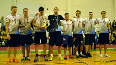 Команда Salaspils WT натурнире Rigas Rudens 2014 (ОД, 2/19)