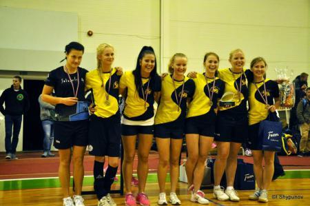 Команда Salaspils FK натурнире Rigas Rudens 2014 (ЖД, 2/15)