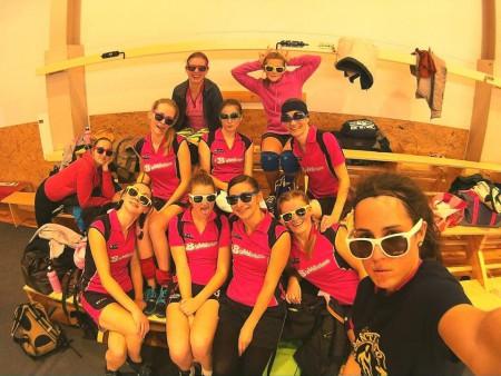 Команда Bubblicious натурнире Rigas Rudens 2014 (ЖД, 6/15)
