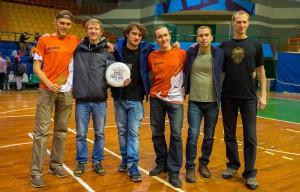 Команда Бивни натурнире Winter Brest 2014 (ОД, 8/12)