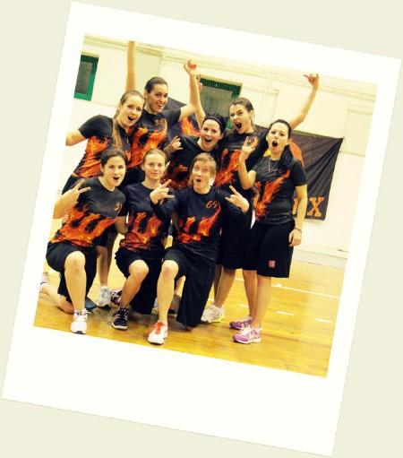 Команда Phoenix натурнире Winter Brest 2014 (ЖД, 5/8)