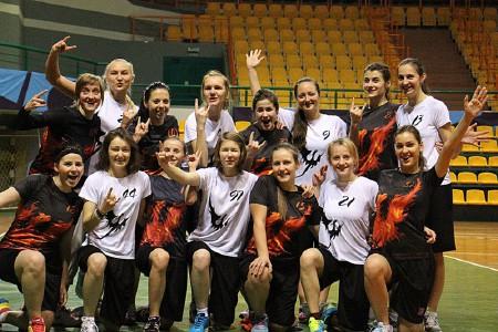 Команда Phoenix 2 натурнире Winter Brest 2014 (ЖД, 8/8)