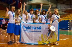 Команда Дикi Кралi натурнире Winter Brest 2014 (ЖД, 2/8)
