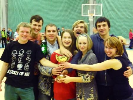 Команда МИФ натурнире Конституционный слет 2011 (2 дивизион, 10/14)