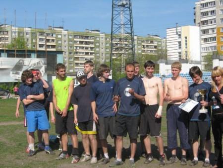 Команда РеалФайв натурнире Кубок Нижнего Новгорода 2008 (ОД, 1/8)