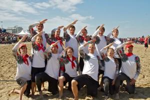Команда Made in USSR натурнире Paganello 2012 (Микс дивизион, 1/32)