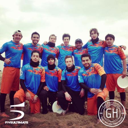 Команда Matanga натурнире Paganello 2013 (ОД, 13/48)