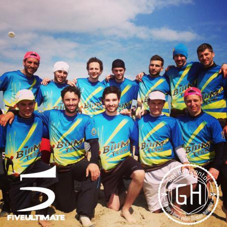 Команда BIIIM team натурнире Paganello 2013 (ОД, 19/48)