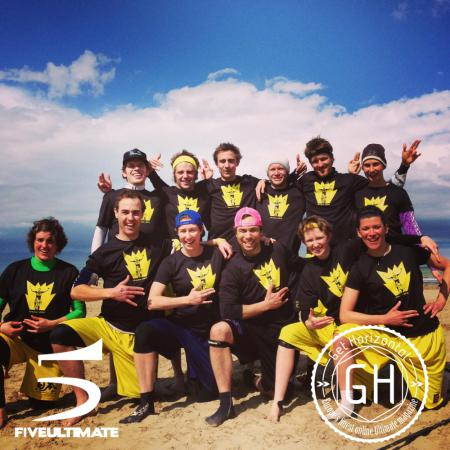Команда Shocker натурнире Paganello 2013 (Микс дивизион, 7/32)