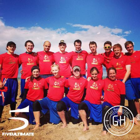 Команда Gold Blend натурнире Paganello 2013 (Микс дивизион, 9/32)