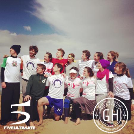 Команда Team Belgium натурнире Paganello 2013 (Микс дивизион, 10/32)