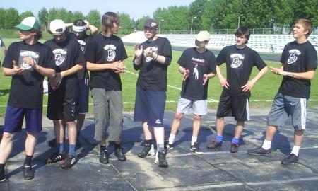Команда Buffalo натурнире Брест без границ 2007 (ОД, 6/12)