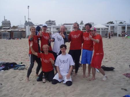 Команда Flying Steps натурнире Paganello 2009 (ОД, 38/48)