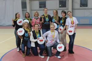Команда Белки ЖД-1 натурнире Дискотека 2014 (ОД, 14/15)