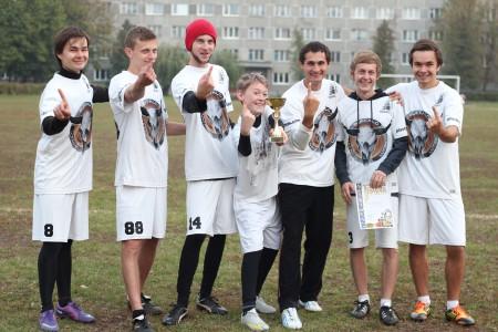 Команда Buffalo натурнире ЗУЛА октябрь 2012 (ОД, 1/8)