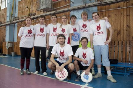 Команда Белки натурнире Перекресток 2012 (ОД, 2/8)