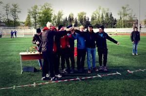 Команда Флаинг Степс натурнире Волна 2014 (ОД, 3/9)
