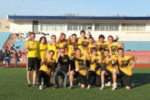 Команда ОксиДискО натурнире Волна 2012 (ОД, 1/8)