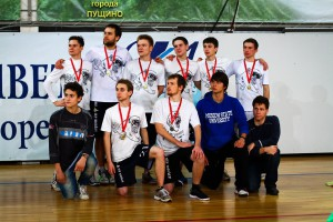 Команда Ми энд Май Манки натурнире Запуск 2014 (Open 1, 1/17)