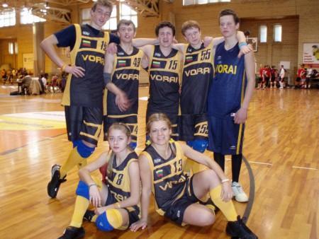 Команда K'team'as натурнире UltiFreeze 2007 (ОД, 8/20)