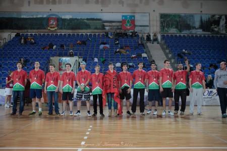 Команда Мустанги 2 натурнире Запуск 2014 (Open 2, 1/18)