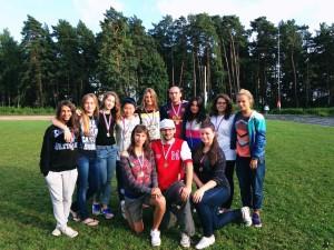Команда Russia National Junior Team 2013 натурнире КВХ 2013 (ЖД, 2/5)
