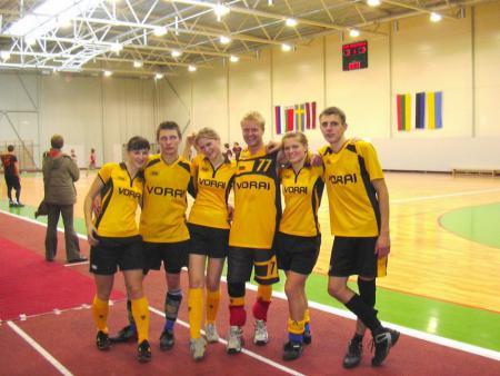 Команда Vorai натурнире Rigas Rudens 2006 (ОД, 6/20)